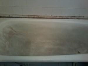 реставрация ванн (до)