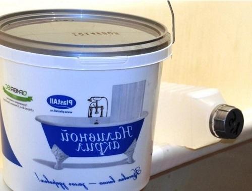Купить жидкий акрил для ванн